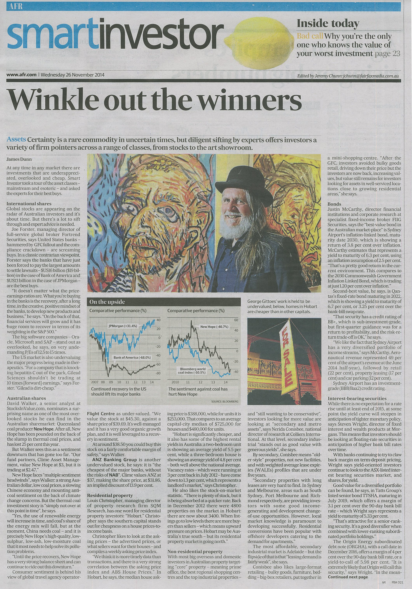 Smart Investor AFR article_26Nov2014_web